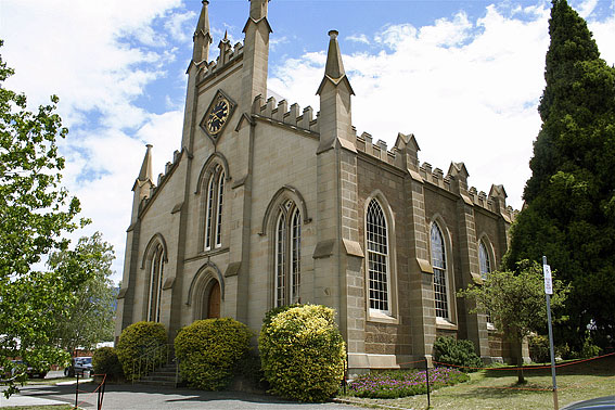 Scots Uniting (Presbyterian) Church Bathurst Street, Hobart