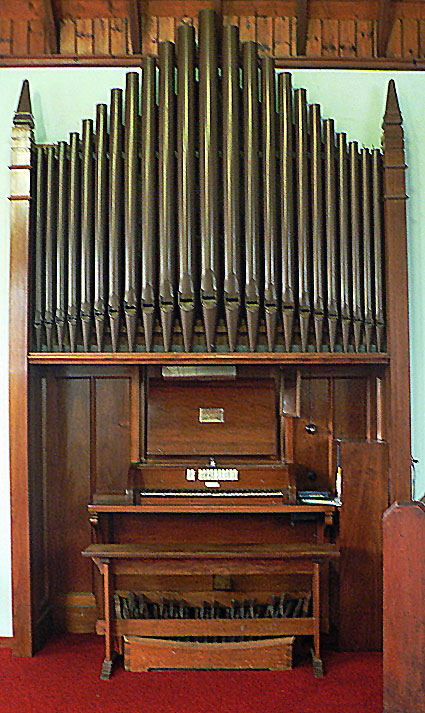 Organ, St James' Anglican Church Ranelagh